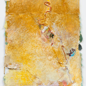 """Untitled"", 14 x 12-inches, mixed media on paper, 1983-2011"
