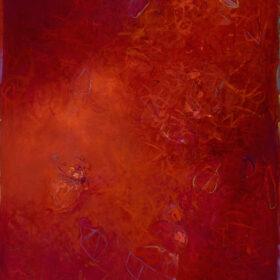 """Aldebaran"", 60 x 32 inches, oil on canvas, 2014-2015"