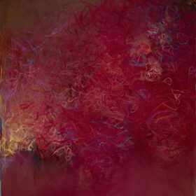 """""""The Place of the Solitaires"""", 48 x 36-inches, oil on canvas, 2003-2015"""