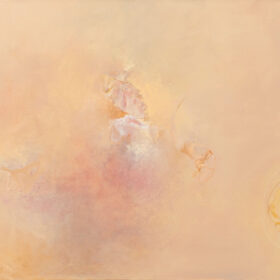 """""""Emergence"""", 36 x 40 inches, oil on canvas, 2003-2010"""
