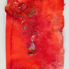 """""""Untitled"""", 18 x 13 inches, mixed media on paper, 2010"""