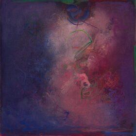 """""""Callisto"""", 20 x 20 inches, oil on canvas, 2019"""